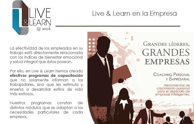 live and learn 33 - Live & Learn - Empresa de Servicios de Psicología Aplicada