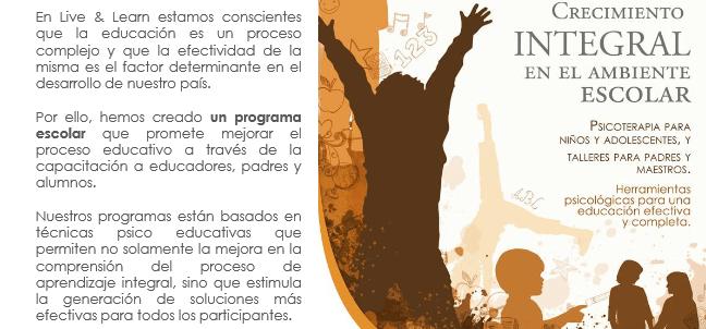 live and learn 44 - Live & Learn - Empresa de Servicios de Psicología Aplicada
