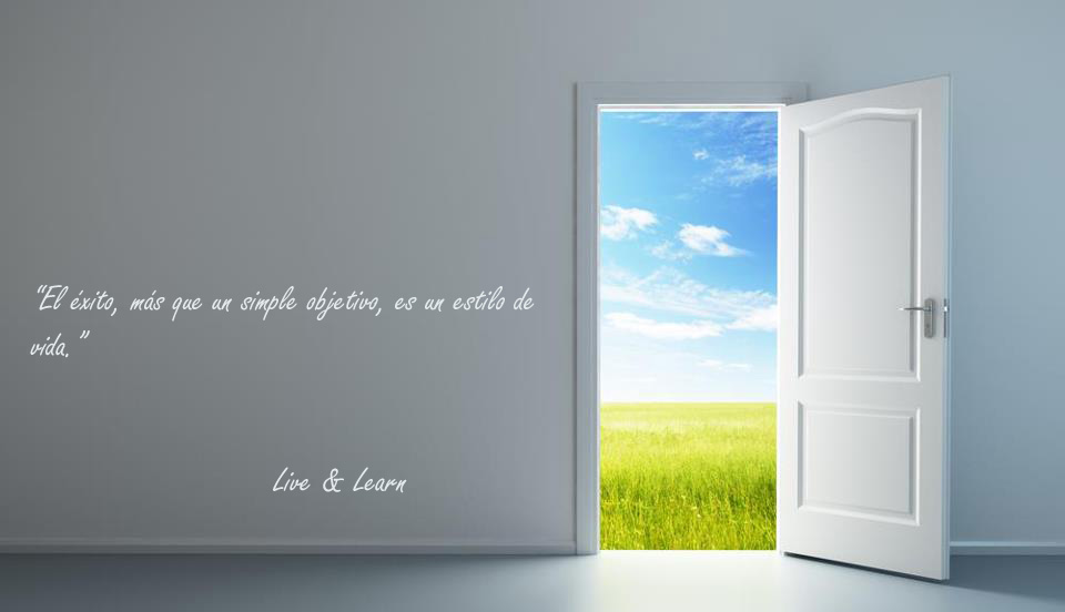 live and learn - door