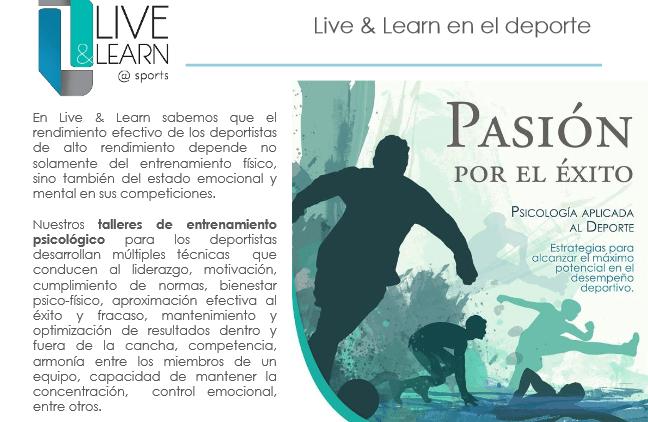 live and learn pasion - Live & Learn - Empresa de Servicios de Psicología Aplicada