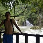 Amigos disfrutando del famoso mirador del Rio Cahabón 150x150 - Guía Turística - Semúc Champey, Alta Verapaz