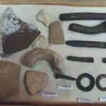 Herramientas Mayas de uso común Fotografía por Carlos Ramírez