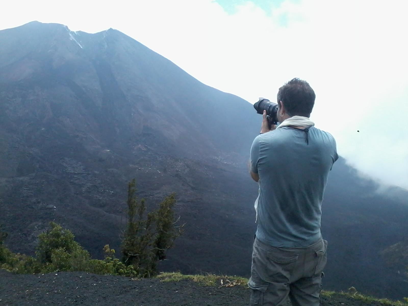 Para los fotógrafos, este es un lugar privilegiado para contemplar un paisaje.