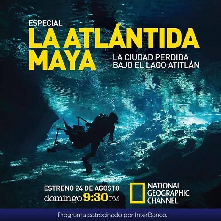 Video de NatGeo acerca de la Atlantida Maya – Samabaj