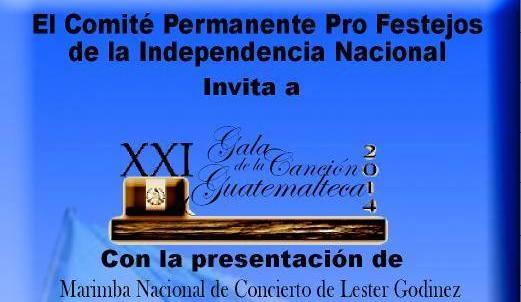 Evento – XXI Gala de la canción guatemalteca