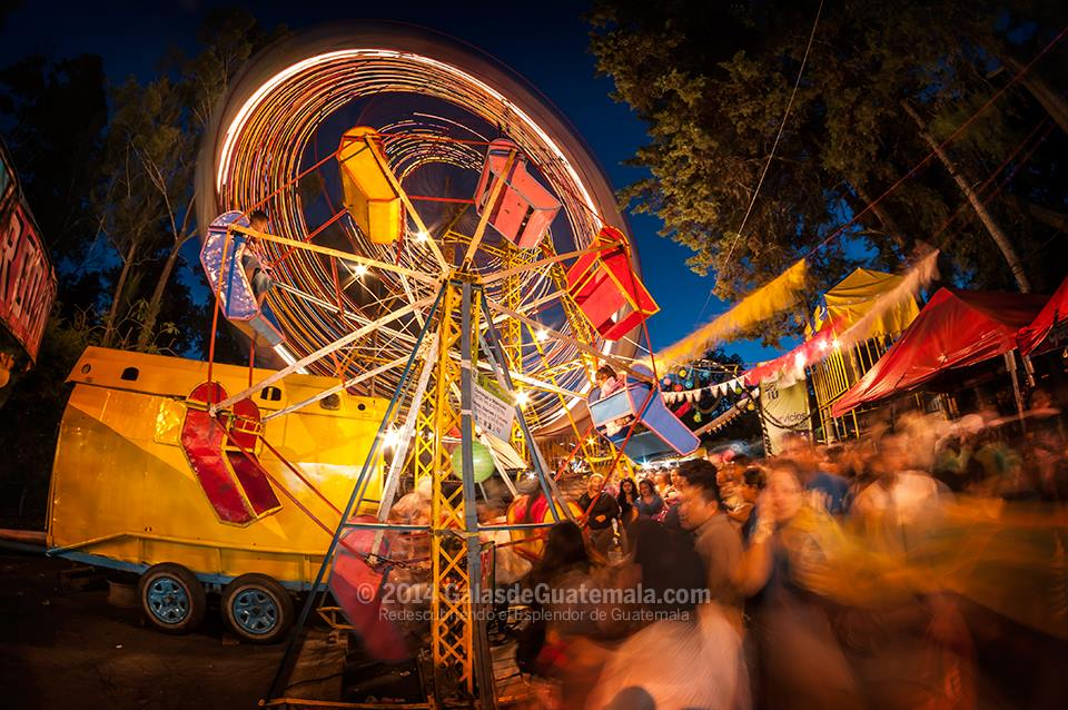 Feria de Jocotenango - foto por Galas de Guatemala