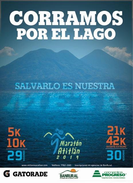 Evento – Corramos por el lago, Maratón Atitlán 2014