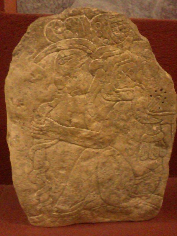 Estela Maya en Estanzuela Zacapa foto por Giovanni Hernandez1 - Guía Turística - Museo de Paleontología y Arqueología en Estanzuela, Zacapa