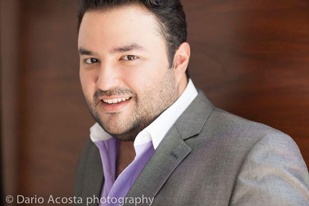 Mario Chang foto Darío Acosta - Mario Chang, tenor