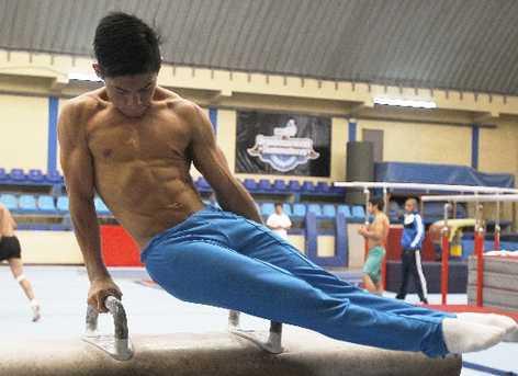 Jorge Vega, gimnasta