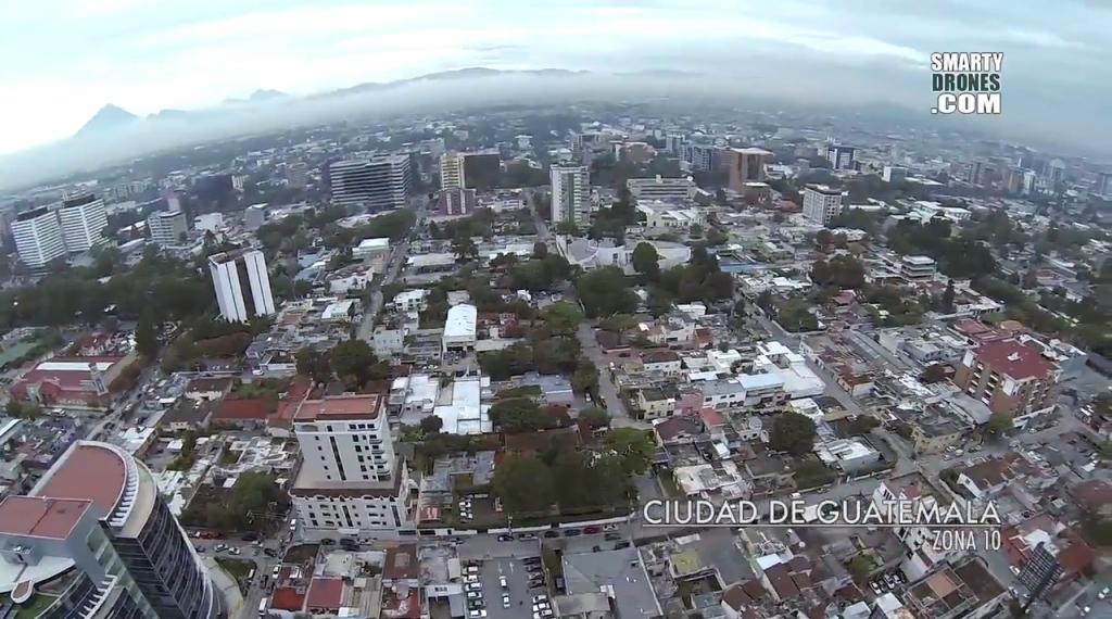 Video aéreo – Ciudad de Guatemala y playa de Sipacate por SmartyDrones