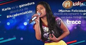 Videos musicales de Karla Herrarte, ganadora de La Academia Kids 2014