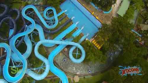 Video Aéreo – los parques de Irtra en Retalhuleu