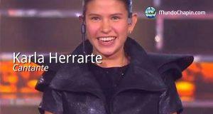 Karla Herrarte, cantante
