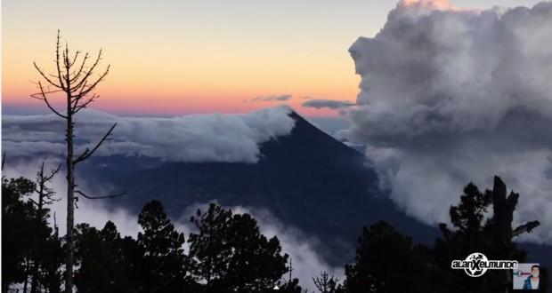 Video Turístico – Alan por el Mundo –  Volcán Acatenango