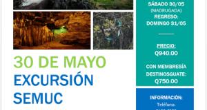 Evento – Semúc Champey 30 de mayo