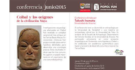 Evento – Ceibal y los orígenes de la civilización Maya