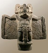 Murcielago Recortado Frente - Encuentra historia, colecciones y cerámica en el Museo Popol Vuh