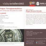 Evento –  Visita El origen Novoguatemalense