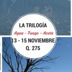 Evento – Trilogía – Agua, Fuego y Acatenango