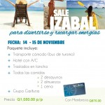 Evento – Viaja a Izabal el 14 y 15 de Nov.