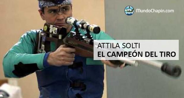 Attila Solti, el campeón del tiro