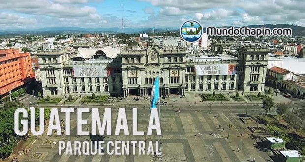 Video Aéreo – Parque Central, Ciudad de Guatemala