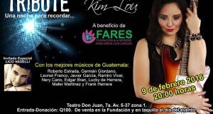 Evento – Kim Lou con Lico Vadelli para apoyar a Fares