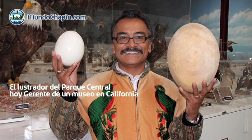 El lustrador del Parque Central hoy gerente de un museo en California