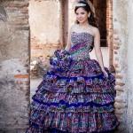 Vestido con tejidos tipicos de Guatemala por Ernesto Gonzalez de casa de modas Fazz modelo Daniela Valdez Muralles foto por Carlos Cordon 150x150 - Galería de Fotos de Guatemala por Carlos Cordón