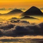 Volcán Santa Maria visto desde el volcán Tajumulco foto por Edgardo Cumez de Pasion Fotografica 150x150 - Fotos de Guatemala por José Edgardo Cumez