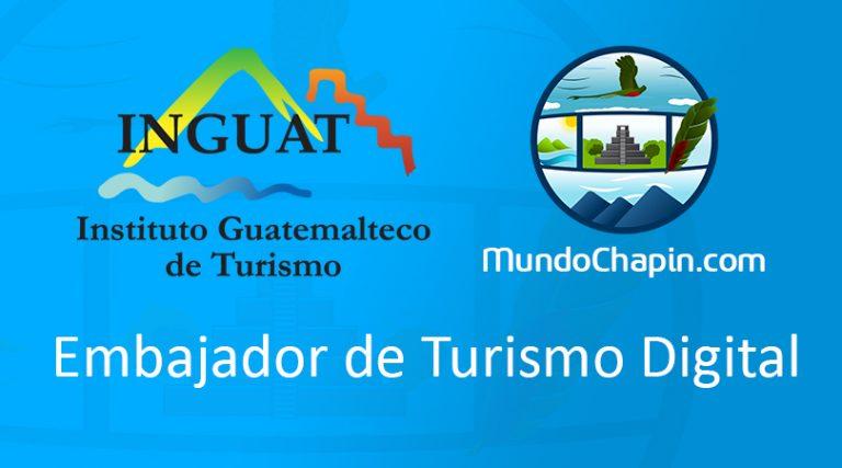 MundoChapin.com nombrado Embajador Digital de Turismo 2016