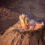 el momento cuando el volcan santiaguito hizo su explosion foto por dany lopez 150x150 - Galeria de Fotos de Guatemala por Dany Lopez