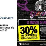 Godspell Guatemala – descuento para estudiantes y personas de la tercera edad