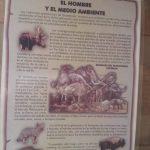 """Imagen de uno de los paneles interpretativos 150x150 - Guía Turística - Sitio Paleontológico """"El Mamut"""""""
