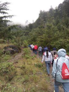 Inicio del recorrido en el Sendero La Maceta mundochapin 225x300 - Guía Turística -  Sendero Ecológico La Maceta