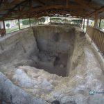 """lugar de excavacion en el mamut 150x150 - Guía Turística - Sitio Paleontológico """"El Mamut"""""""