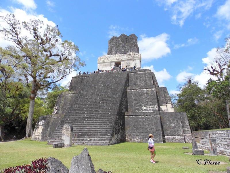 Parque Nacional Tikal 2 foto por Carlos Flores Giron - 5 lugares imperdibles en Guatemala
