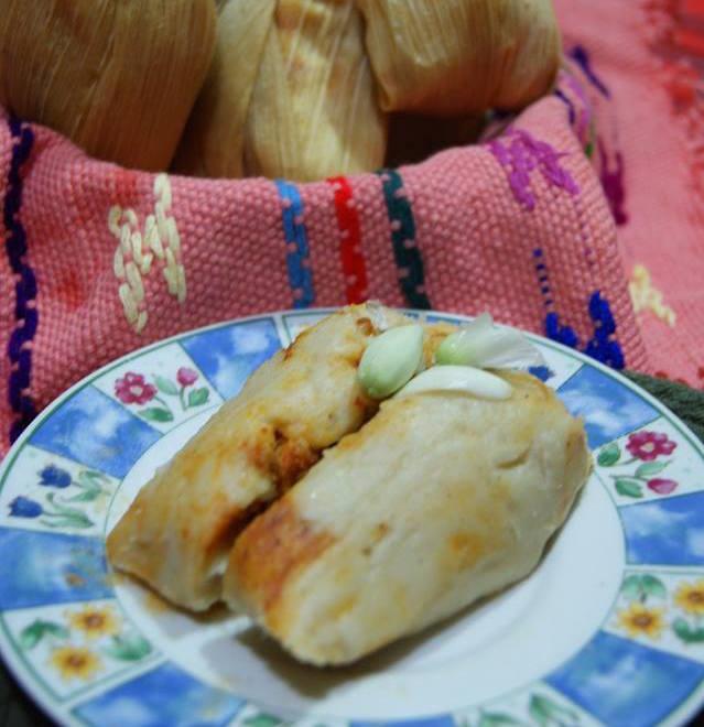Chuchitos con flor de izote - foto por Irasema Mont