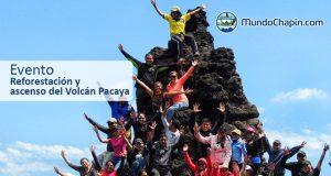 Evento – Reforestación y ascenso del volcán Pacaya