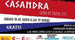 Evento Alianza Francesa – Casandra y la caída de Troya