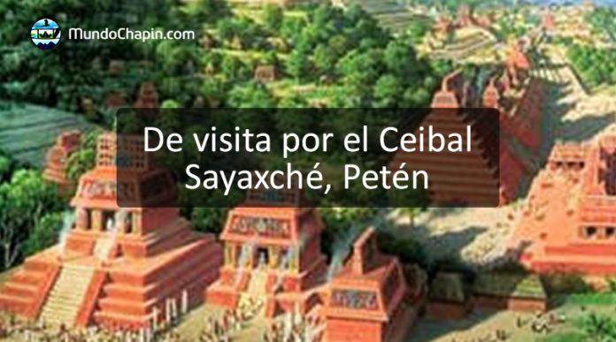 De visita por el Ceibal Sayaxché Petén