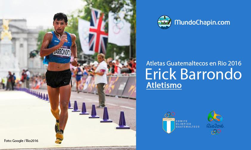 Erick Barrondo, Guatemala, Atletismo Rio 2016