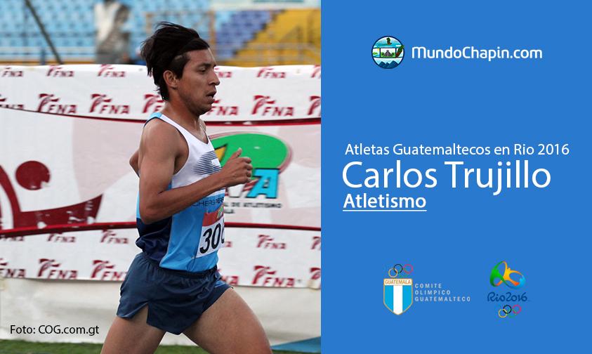 Carlos Trujillo, Guatemala, Atletismo Rio 2016