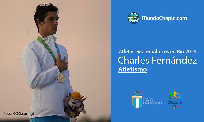 Charles Fernández, Guatemala, Atletismo Rio 2016
