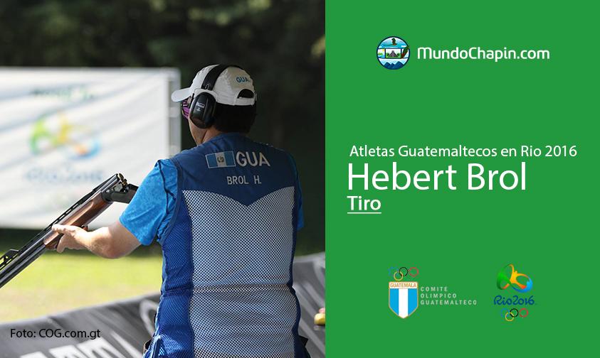 Hebert Brol, Guatemala, Tiro Rio 2016