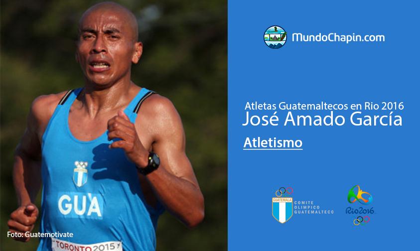 Jose Amado Garcia, Guatemala, Atletismo Rio 2016