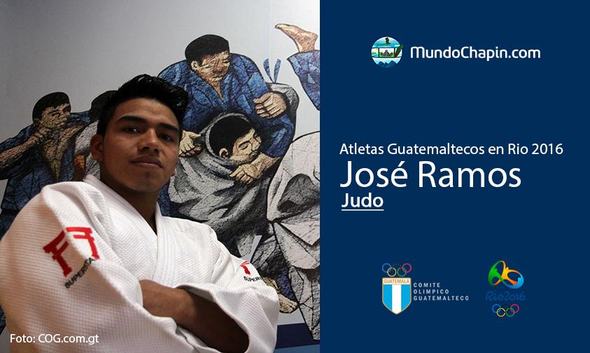 José Ramos, Guatemala, Judo Rio 2016