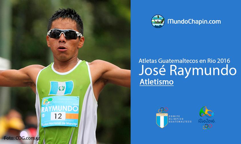 José Raymundo, Guatemala, Atletismo Rio 2016