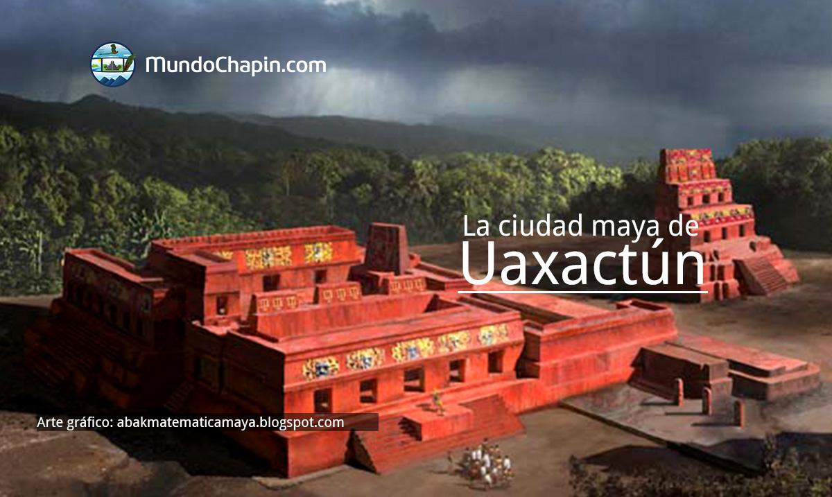 La ciudad maya de Uaxactún